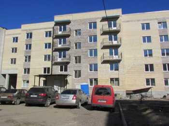 Общий вид на Дом на улице Волгоградская, 21А (Волхов)